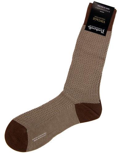 + Fabian PANTHERELLA Mod Herringbone Socks (MB)