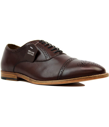Priston PAOLO VANDINI 1960s Mod Oxford Brogues (B)