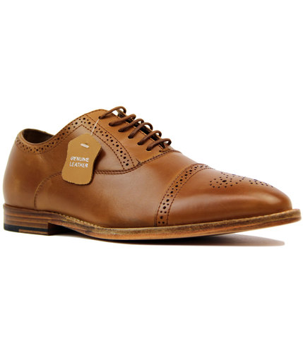 Priston PAOLO VANDINI 1960s Mod Oxford Brogues (T)