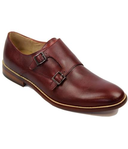 Lewis PAOLO VANDINI Mod Double Monk Strap Shoes W