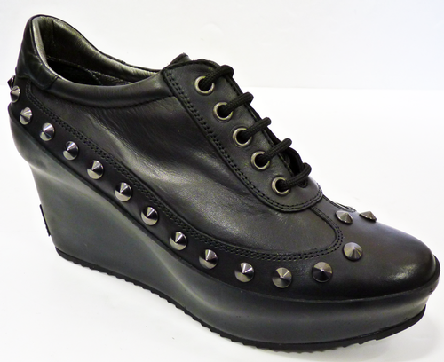 Hoxton PATRICK COX by GEOX 70s Studded Wedges