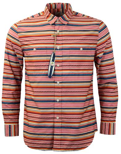 PENDLETON BEACH BOYS BOARD SURF SHIRT PINK
