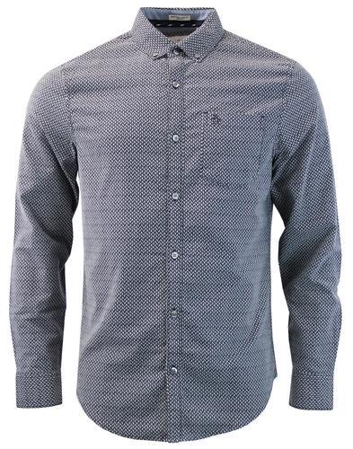 ORIGINAL PENGUIN Geo Print Stretch Oxford Shirt