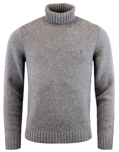 original penguin knitted roll neck jumper griffin