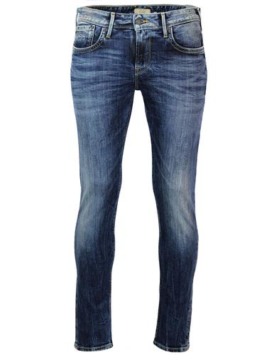 PEPE JEANS MENS HATCH SLIM RETRO DENIM JEANS