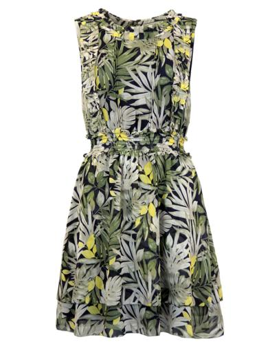 PEPE JEANS WOMENS RETRO VINTAGE FLORAL PROM DRESS