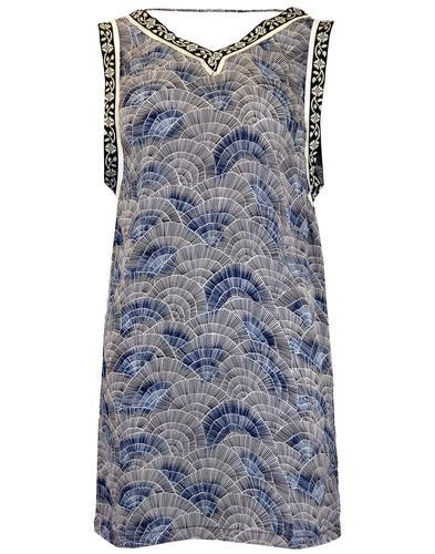 PEPE JEANS WOMENS RETRO 1920 FLAPPER DRESS