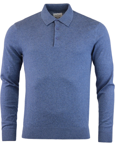 Hemmingford Monro PETER WERTH 60s Knitted L/S Polo