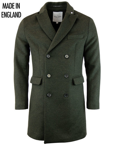 Kingsford PETER WERTH Mod Double Breasted Overcoat