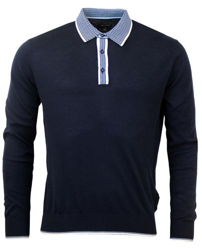 PETER WERTH RETRO MOD 70s KNITTED POLO