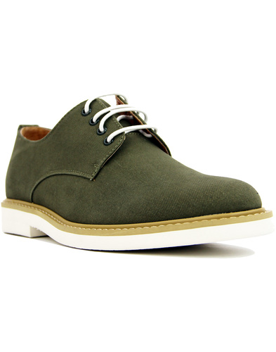 peter werth pegg derby shoes Olive