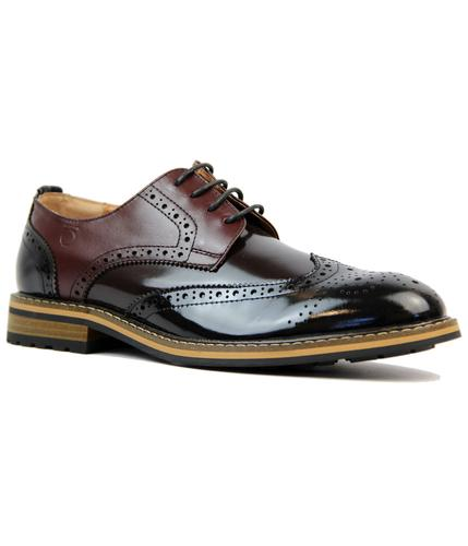 Turnmill PETER WERTH Retro Mod High Shine Brogues