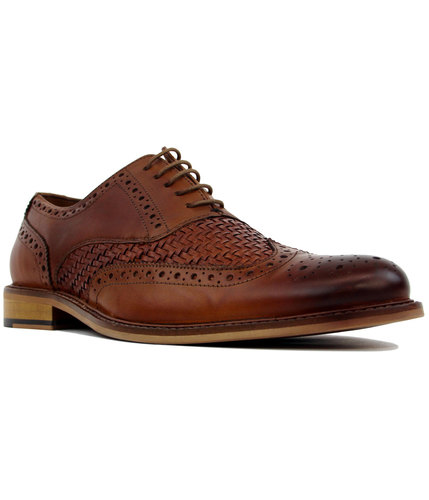 Petersville PAOLO VANDINI Mod Basketweave Brogues