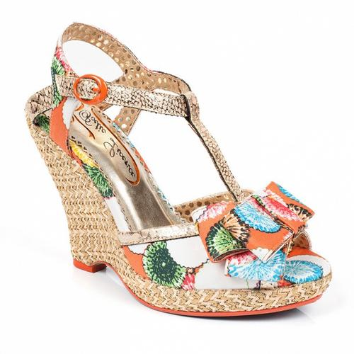 POETIC LICENCE BEHAVE YOURSELF RETRO SANDALS WEDGE