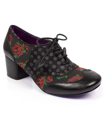 Clara Bow POETIC LICENCE 1950s Rose Floral Heels