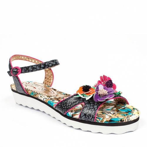 POETIC LICENCE DEVOTION RETRO BEACH SANDALS