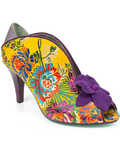 poetic licence shanghai surprise 60s heels yellow