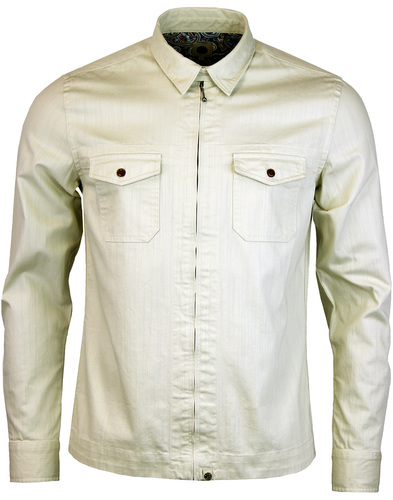 pretty green blagrave shirt stone