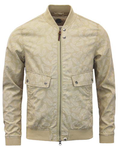 Forrester PRETTY GREEN Mod Paisley Bomber Jacket S