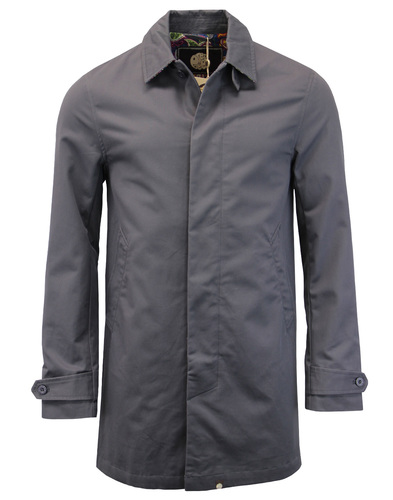 Glendon PRETTY GREEN Mod Button Up Mac Jacket (G)