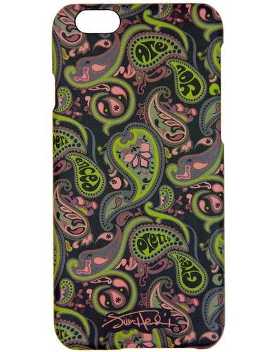 pretty green jimi hendrix paisley mod iphone case