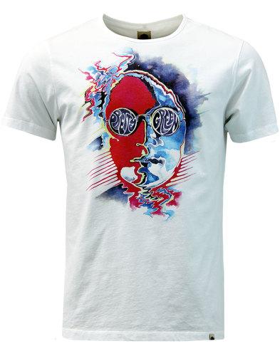 Hofmann PRETTY GREEN John Lennon T-Shirt in White