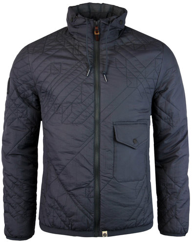 pretty green kirby retro hacienda quilted jacket