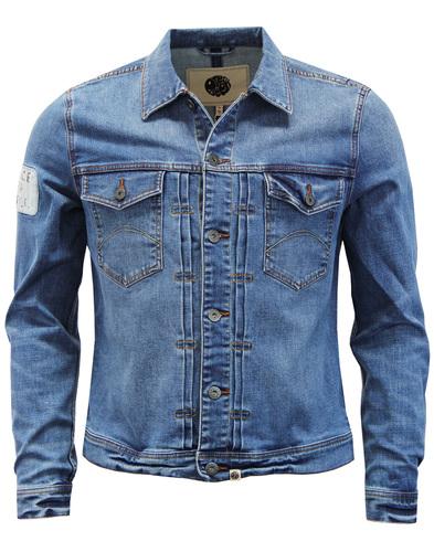 Lambert PRETTY GREEN Peace For People Denim Jacket