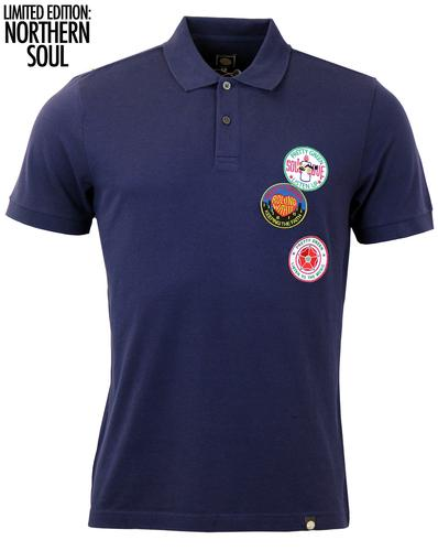PRETTY GREEN MOD NORTHERN SOUL PATCHES POLO
