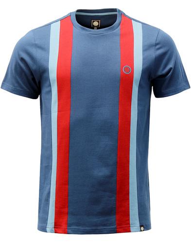 Norwood PRETTY GREEN Mod 60s Stripe Panel T-Shirt