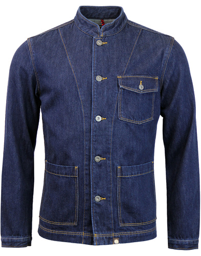 pretty green sandmead denim jacket