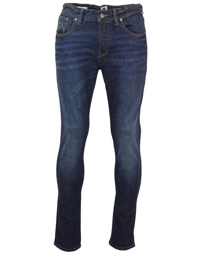PRETTY GREEN RETRO MOD SKINNY JEANS DENIM