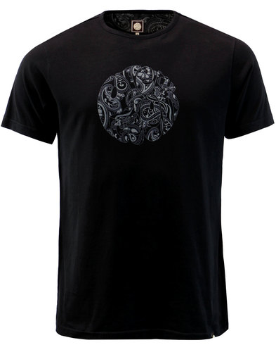 Thornley PRETTY GREEN 60s Mod Paisley Logo Tee (B)
