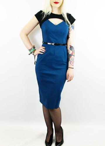 PRETTY DRESS Kelly Vintage Fifties Contrast Dress