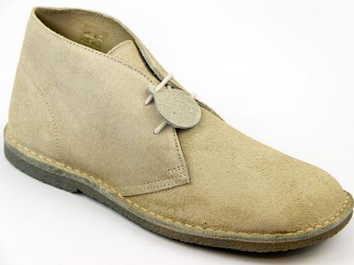 PRETTY GREEN Suede Crepe Sole Mod Desert Boots B
