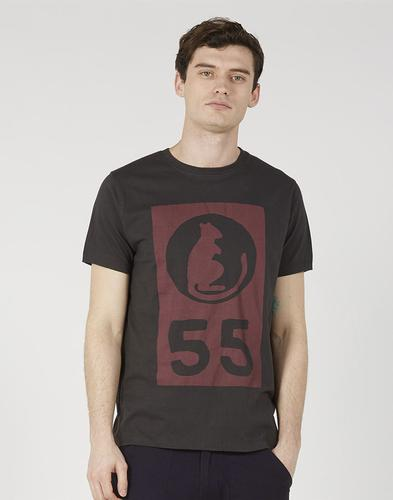 Rat 55 REALM & EMPIRE Retro Desert Rats WWII Tee