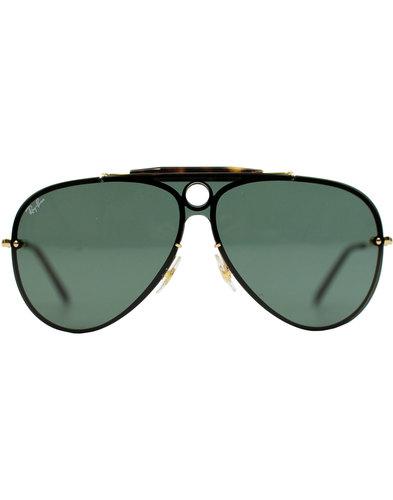 Blaze Shooter RAY-BAN Retro 70s Aviator Sunglasses