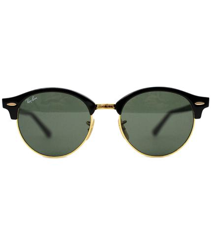 RAY-BAN RETRO SUNGLASSES CLUBROUND SUNGLASSES