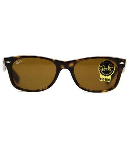 New Wayfarer Ray-Ban Retro 60s Mod Sunglasses (Br)