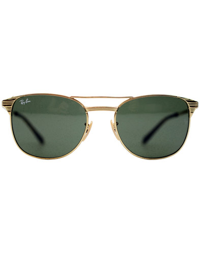 Signet RAY-BAN Retro 50s Icons Sunglasses - Gold