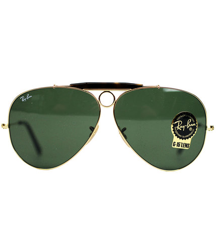 Ray-Ban Shooter Aviator Retro Sunglasses Mod