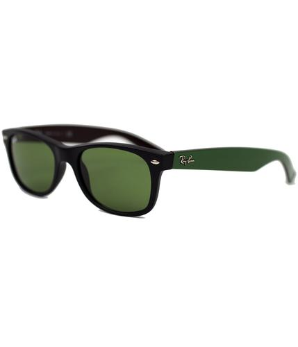 RAY-BAN RETRO MOD TWO TONE WAYFARER SUNGLASSES