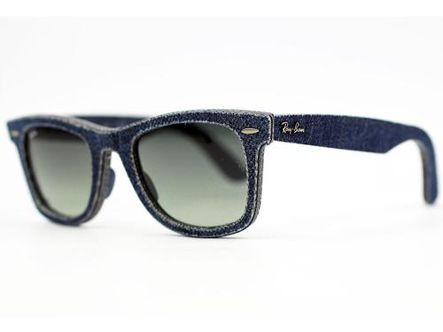 RAY-BAN RETRO MOD DENIM JEANS WAYFARER SUNGLASSES