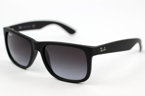 RAY-BAN RETRO WAYFARER SUNGLASSES JUSTIN BLACK