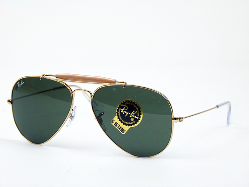 Ray-Ban Outdoorsman Retro Mod Aviator Sunglasses G