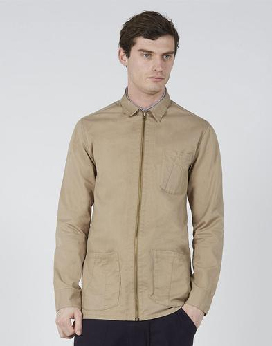 REALM & EMPIRE Zip Thru Military Workwear Jacket