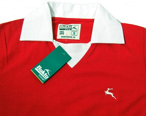 'Portland' -Bukta Vintage Retro Football Shirt (R)