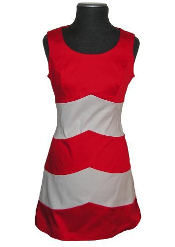 Sixties mod retro vintage quant mini shift dress