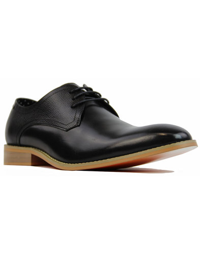 paolo vandini renon lace oxford mens shoes black