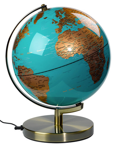 Retro Vintage Globe Lamp Light